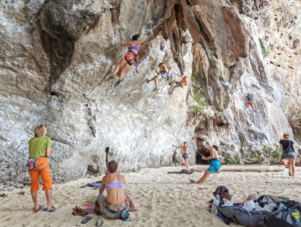Thailand Railay Climbing Pictures