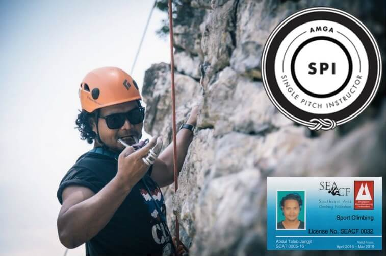 how to become a certified rock climbing instructor